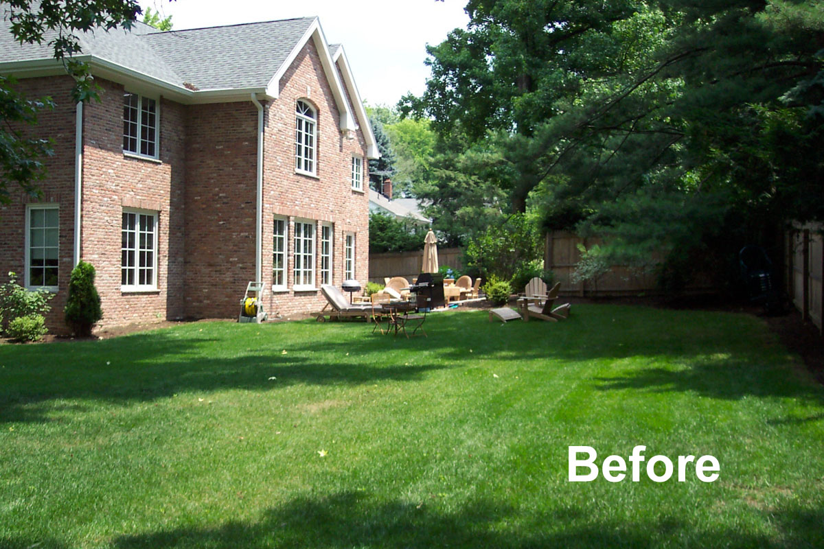 Before And After Landscape Photo, Before Photo - North Jersey