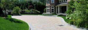 Landscape Design, NJ, stone driveway