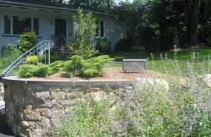 Morristown, NJ, front yard renovation