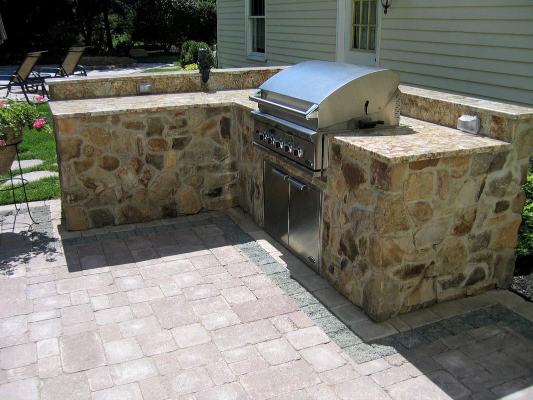 outdoor kitchen design, bbq