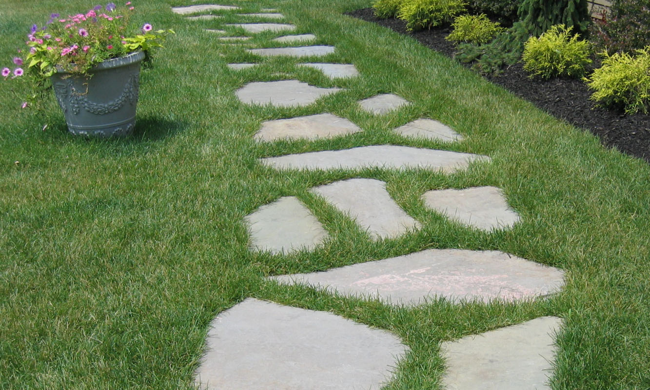 Irregular Natural Stone Stepping Stones