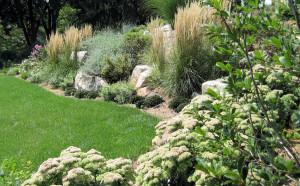 Wayne, NJ, garden design and stonework