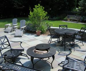 Westfield, NJ, slate patio