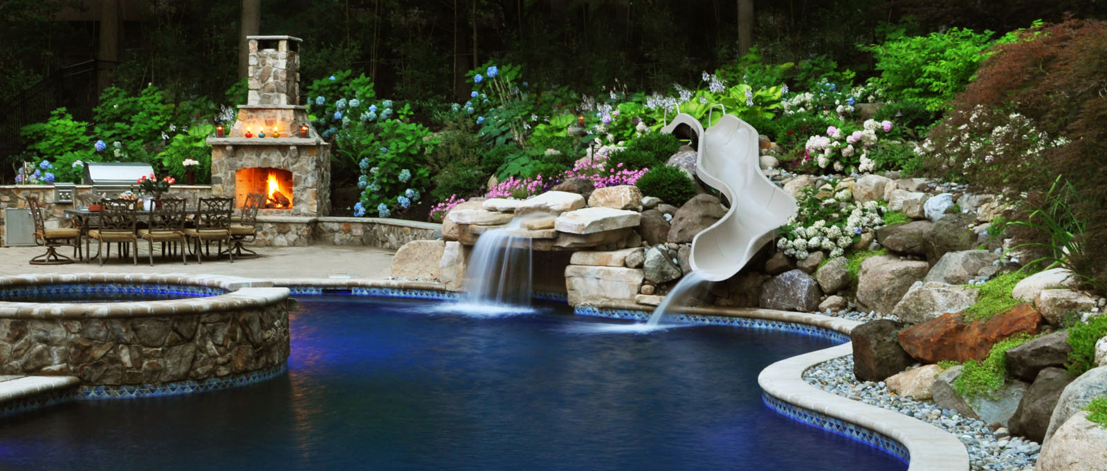 Beautiful pools and patios enchanting beautiful pools for Pool and patio designs