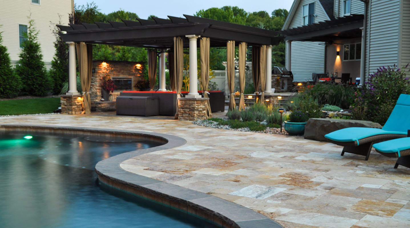 Landscape design services clc landscape design for Pool design 3d