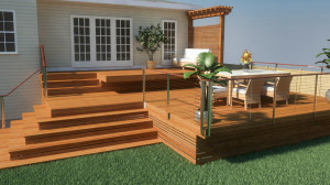 3D Rendering Landscape Design NJ