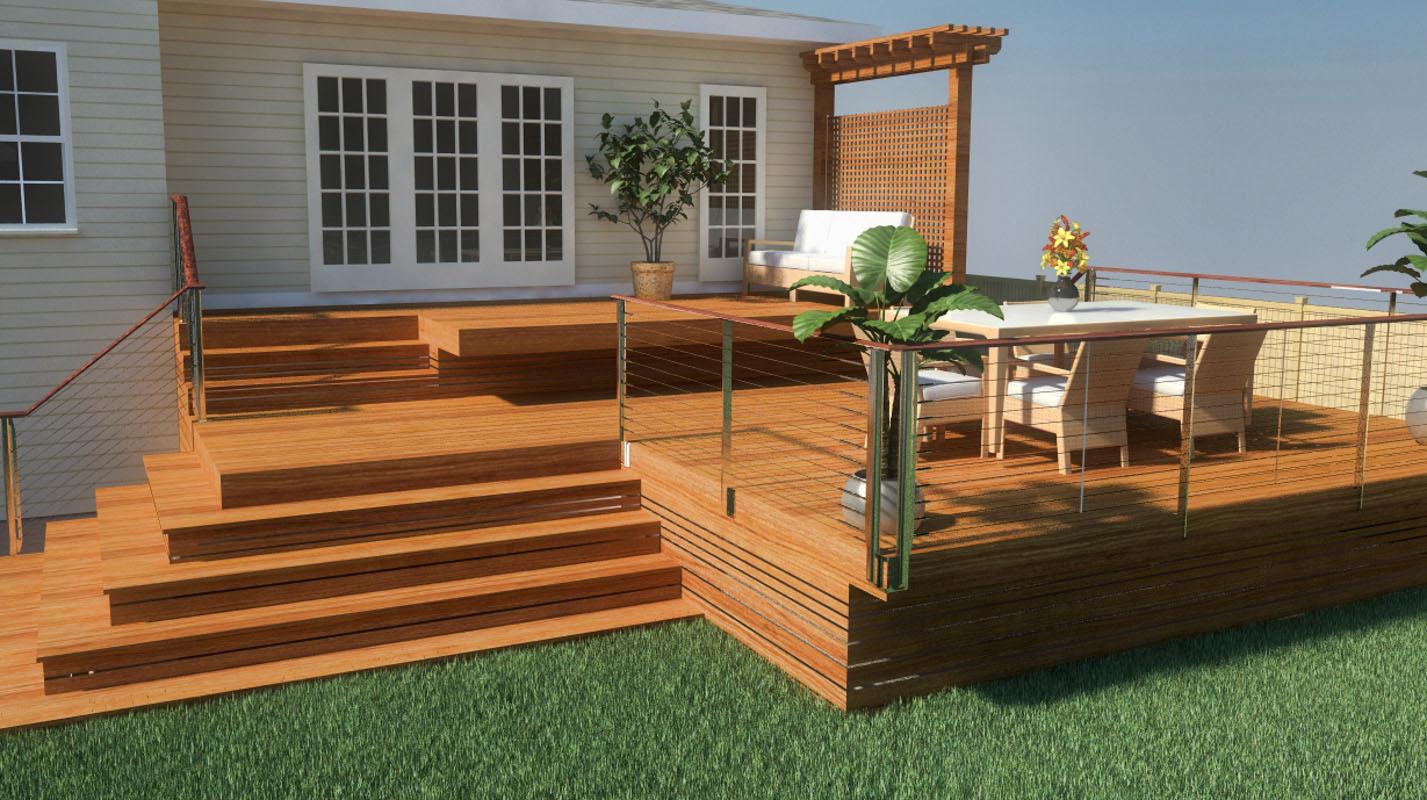 3D Rendering Landscape Design NJ