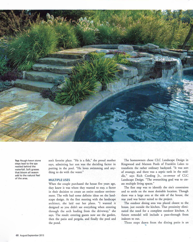 Design nj clc landscape design for Landscape design nj
