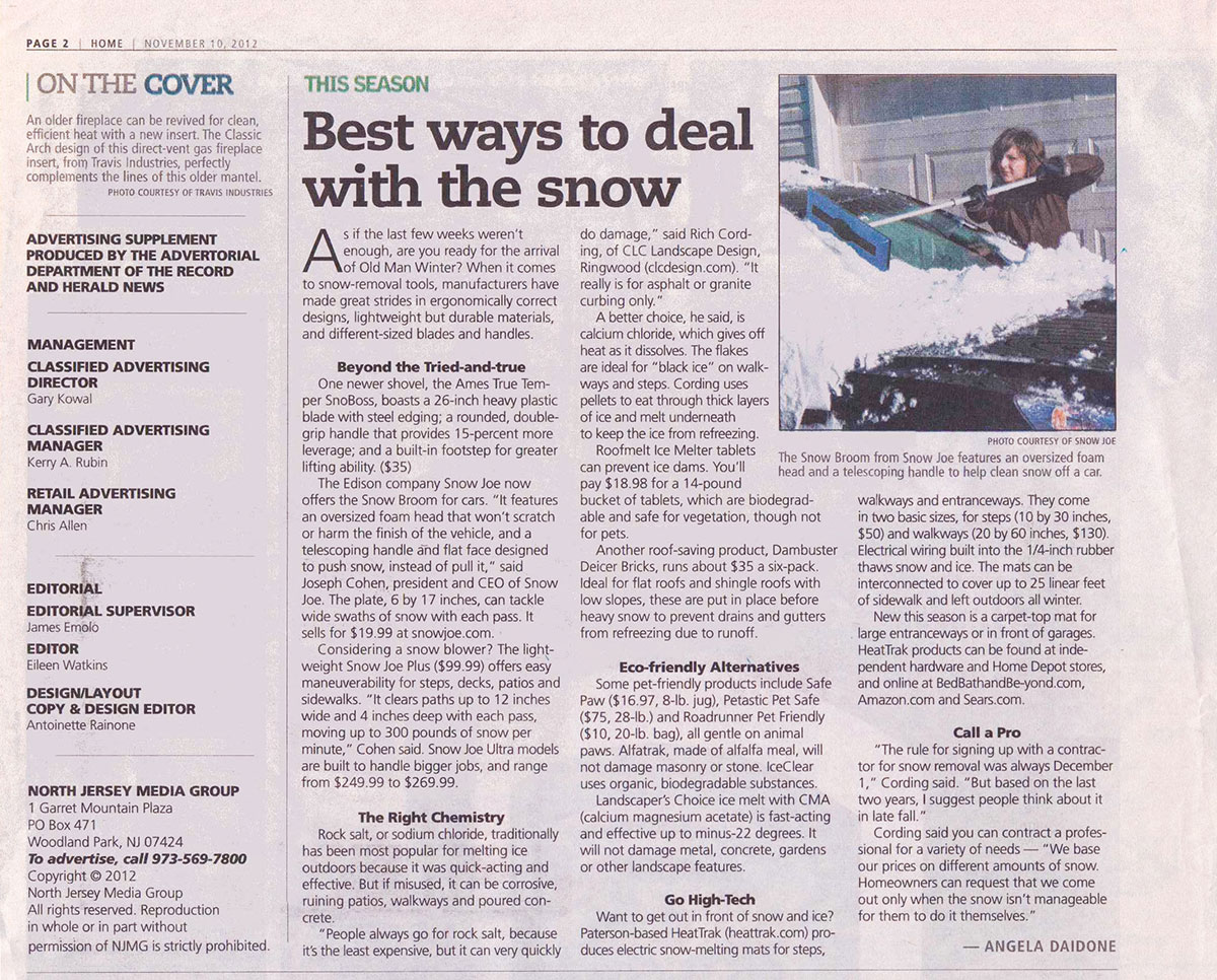 The Record - Best Way To Deal With NJ Snow (page 1)