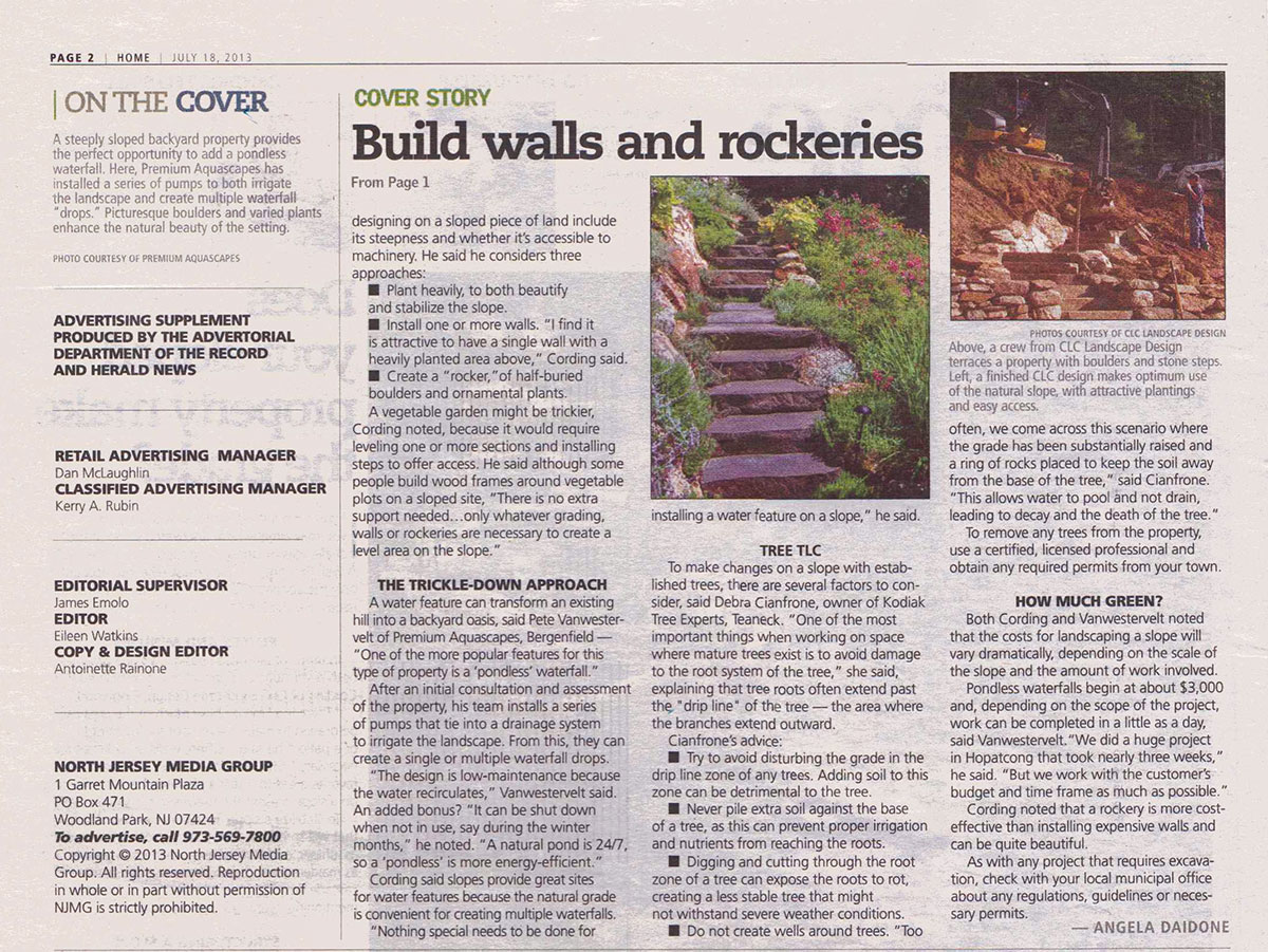 The Record - Slope Landscaping Ideas (page 1)