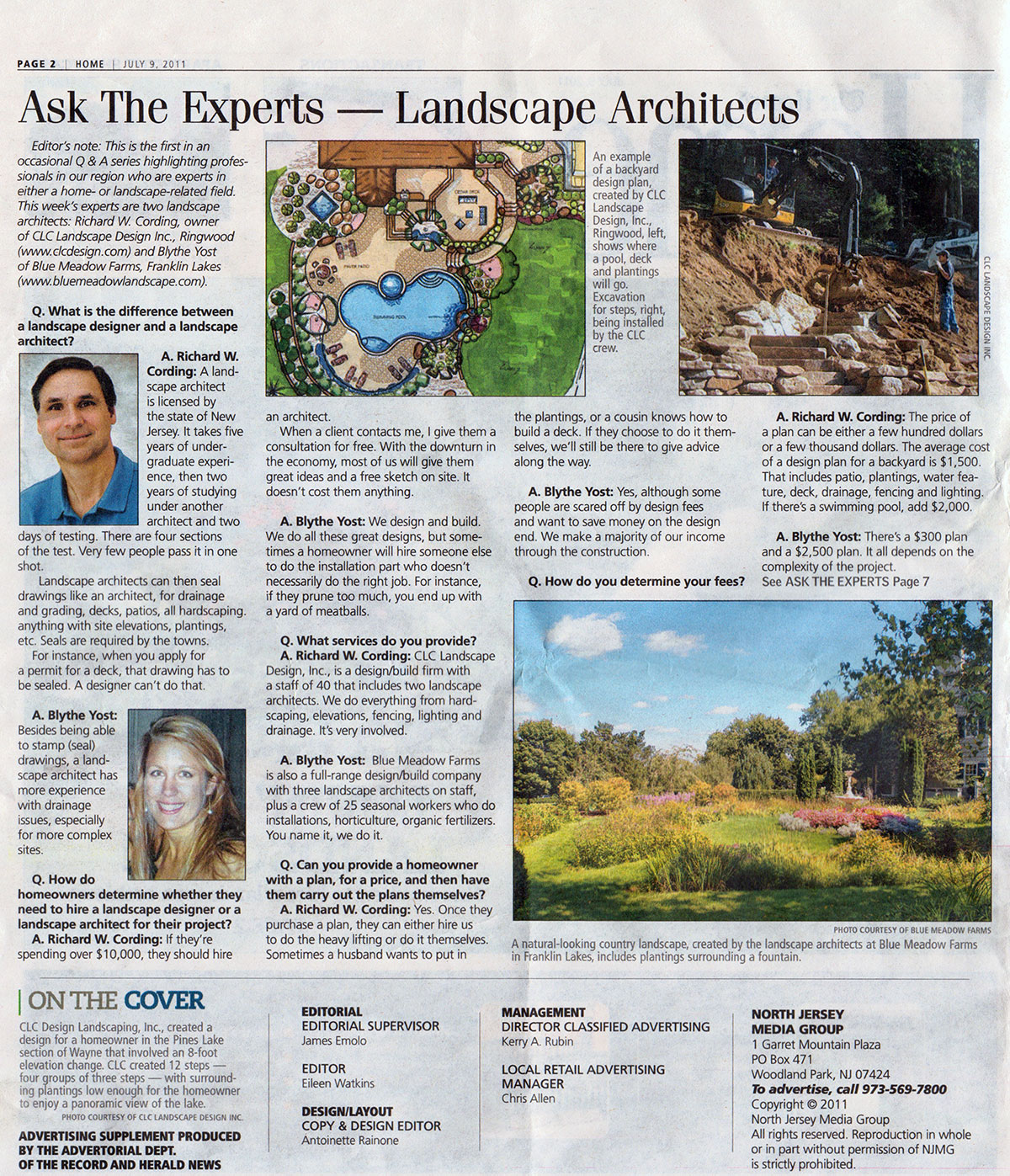 The Record - Ask The Experts - Landscape Architect (page 1)