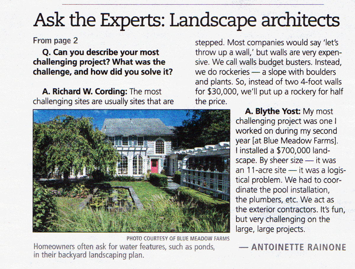 The Record - Ask The Experts - Landscape Architect (page 2)