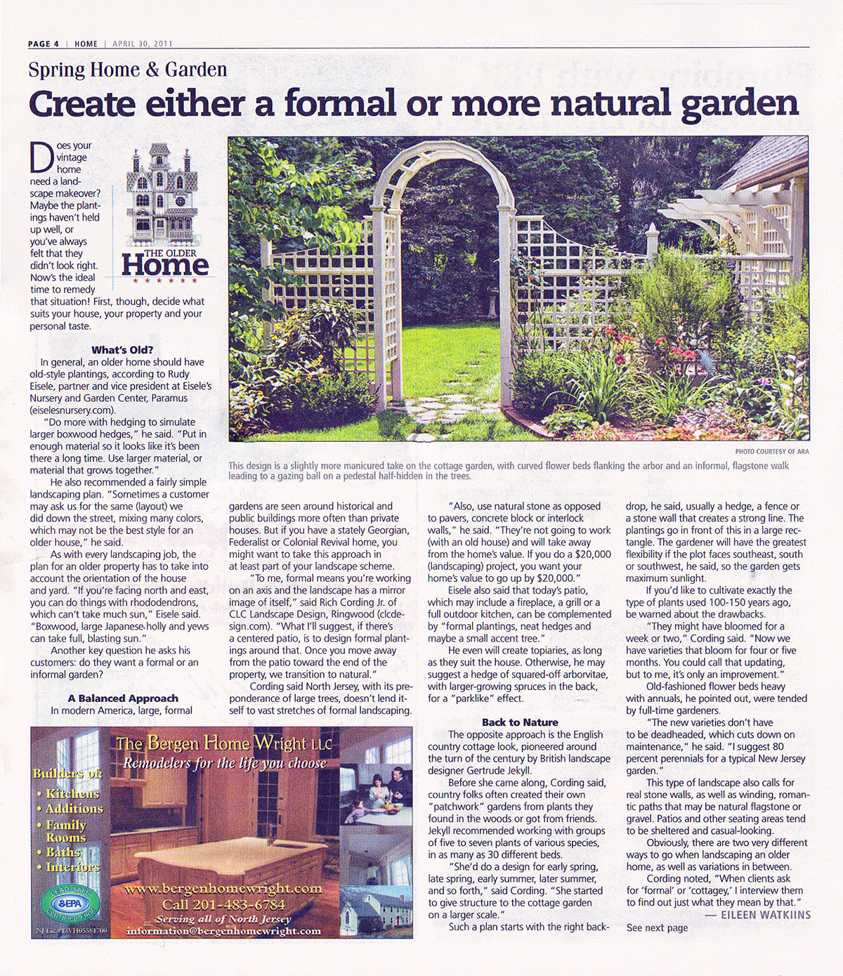 The Record - Formal or Semi-Formal Garden (page 1)