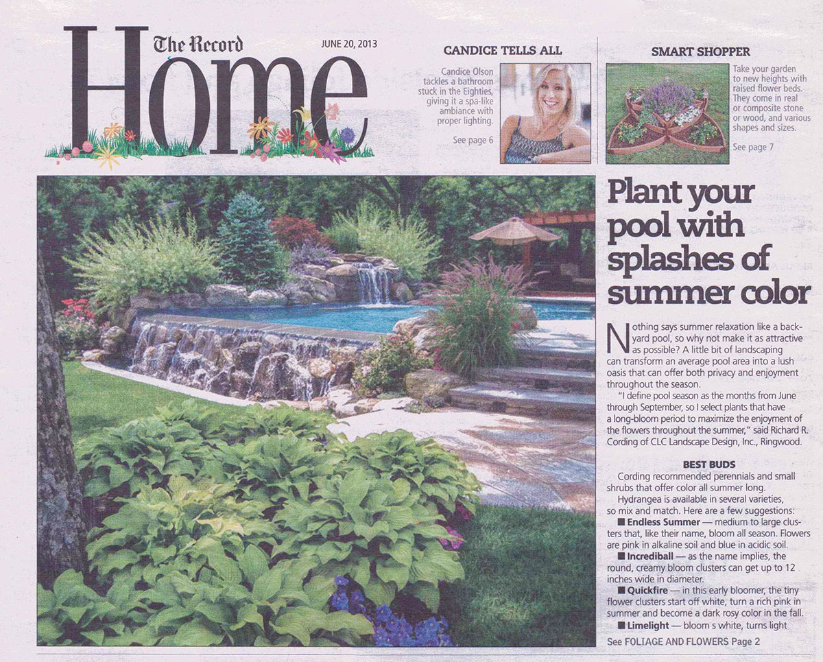 The Record - New Jersey Pool Landscaping (cover)