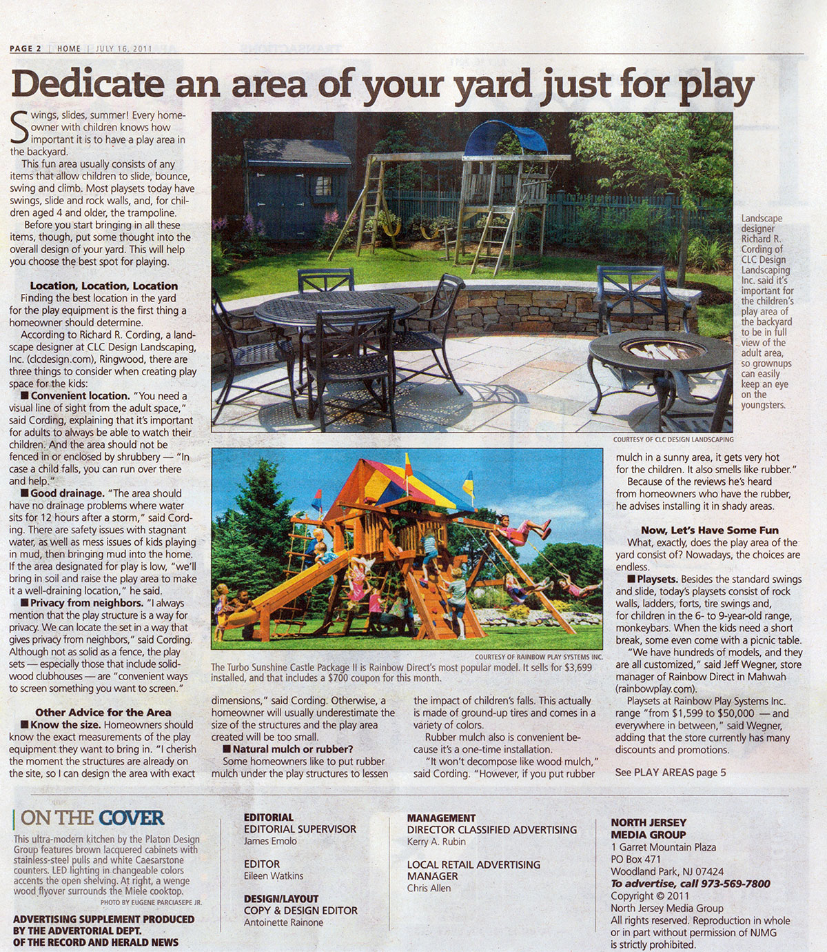 The Record - NJ Backyard Play Area (page 1)