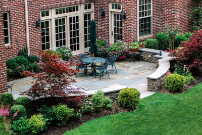 Short Hills, NJ, CLC Landscape Design, patio