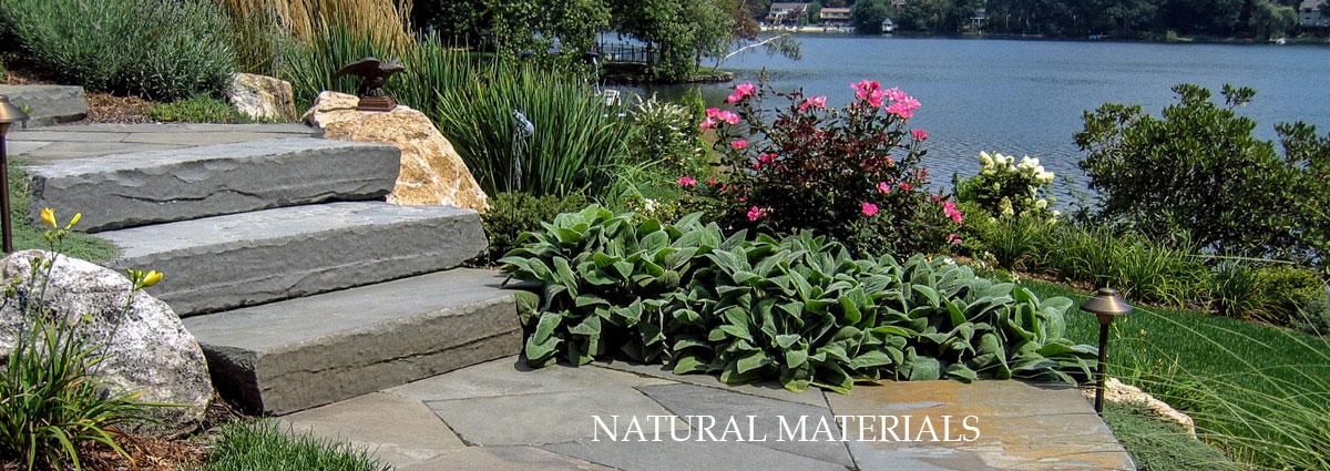 natural materials, stone