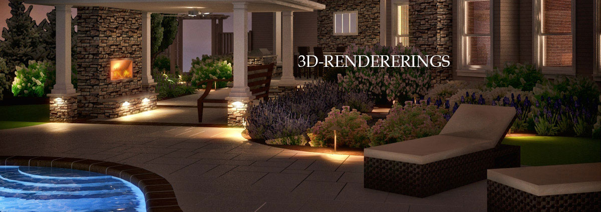 3d landscape design renderings