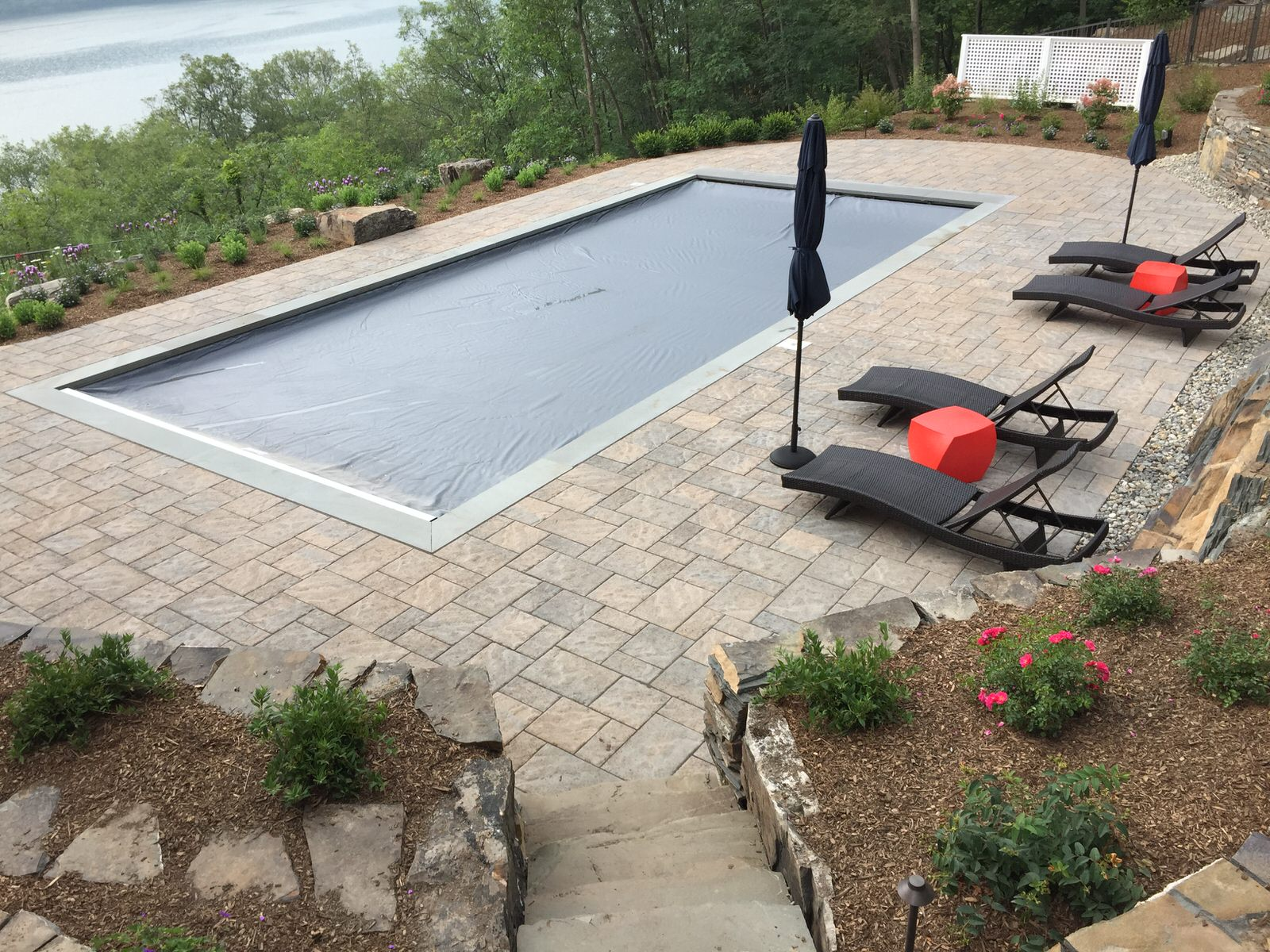 Greenwood Lake Swimming Pool Clc Landscape Design