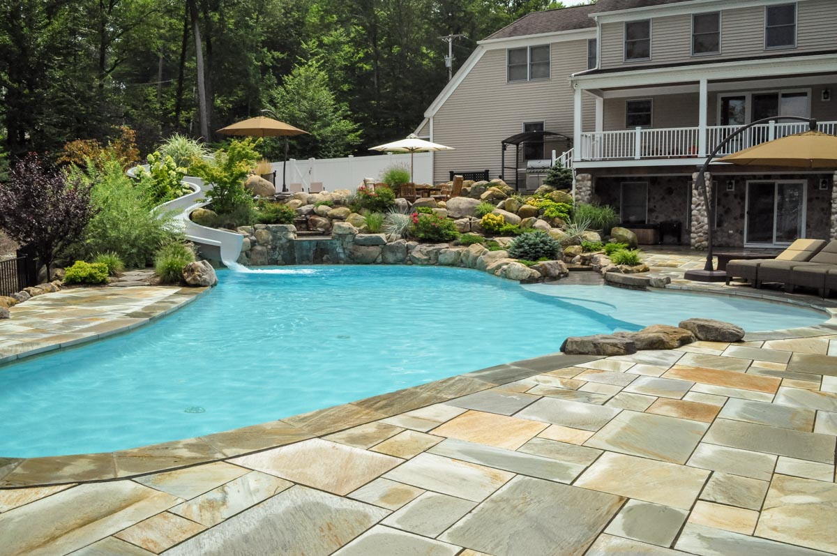 after photo of lake hopatcong landscape design