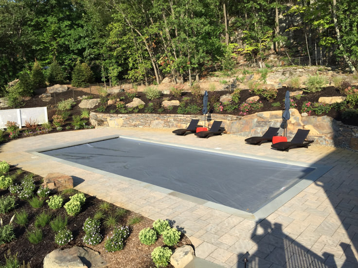 greenwood lake pool, patio, and complete landscape