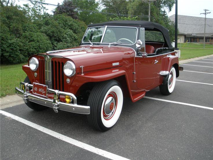 1948 jeep willy jeepster