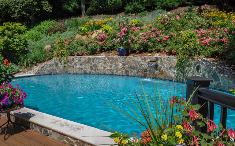 We Are Experienced At Swimming Pool Design And Enjoy Managing All Aspects  Of Your Swimming Pool Landscape Project.