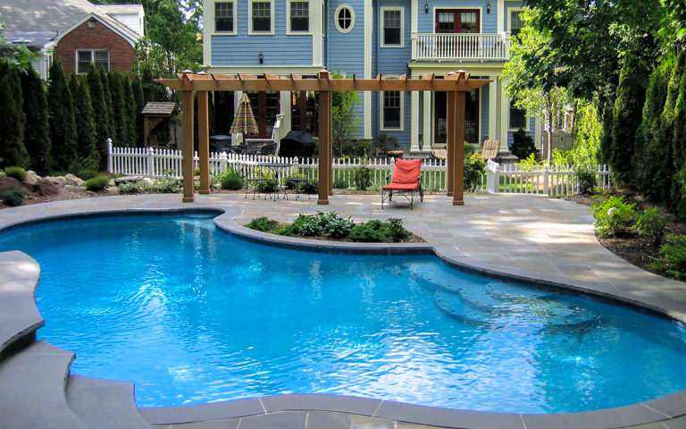 Pool design nj clc landscape design for Pool design hamilton nj