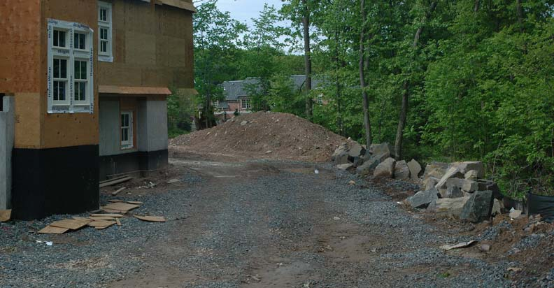 before photo of paver driveway