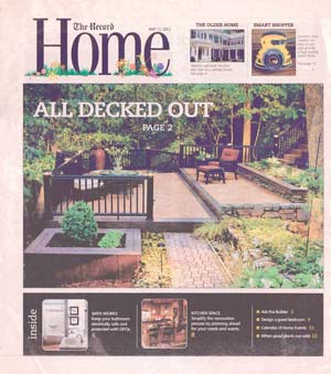 The Record - Plantings Around NJ Deck (cover)