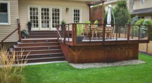 new deck, contemporary style - north jersey