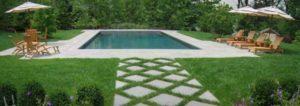Tenefly, NJ, custom swimming pool design
