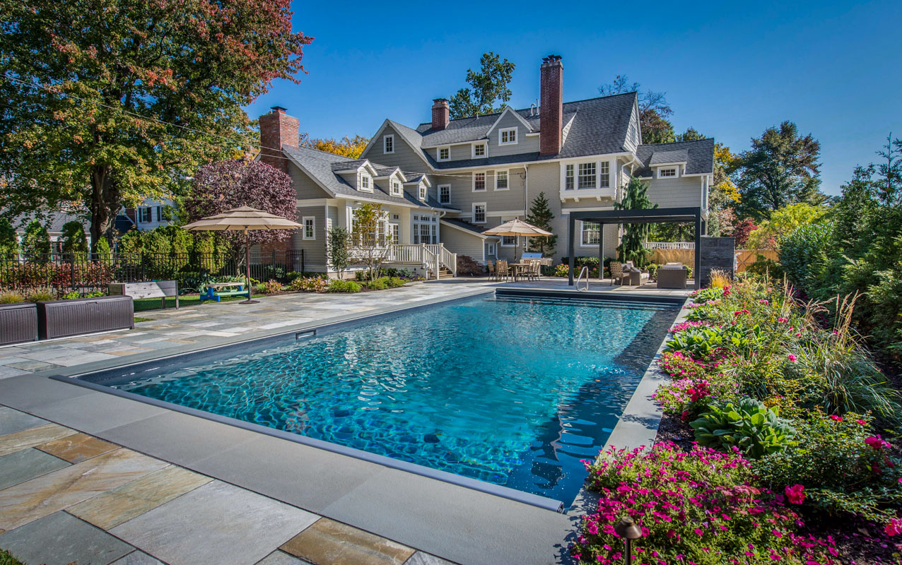 Montclair new jersey landscape design luxurious backyard 3 for New landscape design