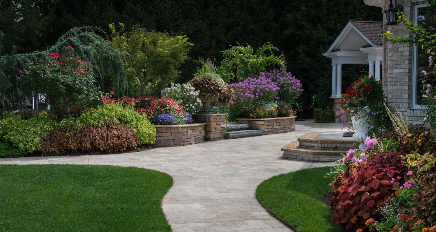 Montville colorful gardens clc landscape design for Landscape design nj