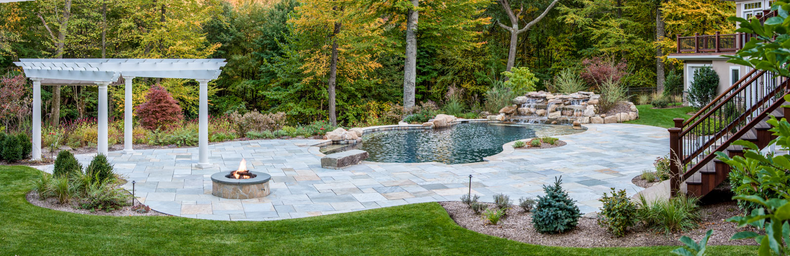 Mountain Lakes Pool And Patio Clc Landscape Design