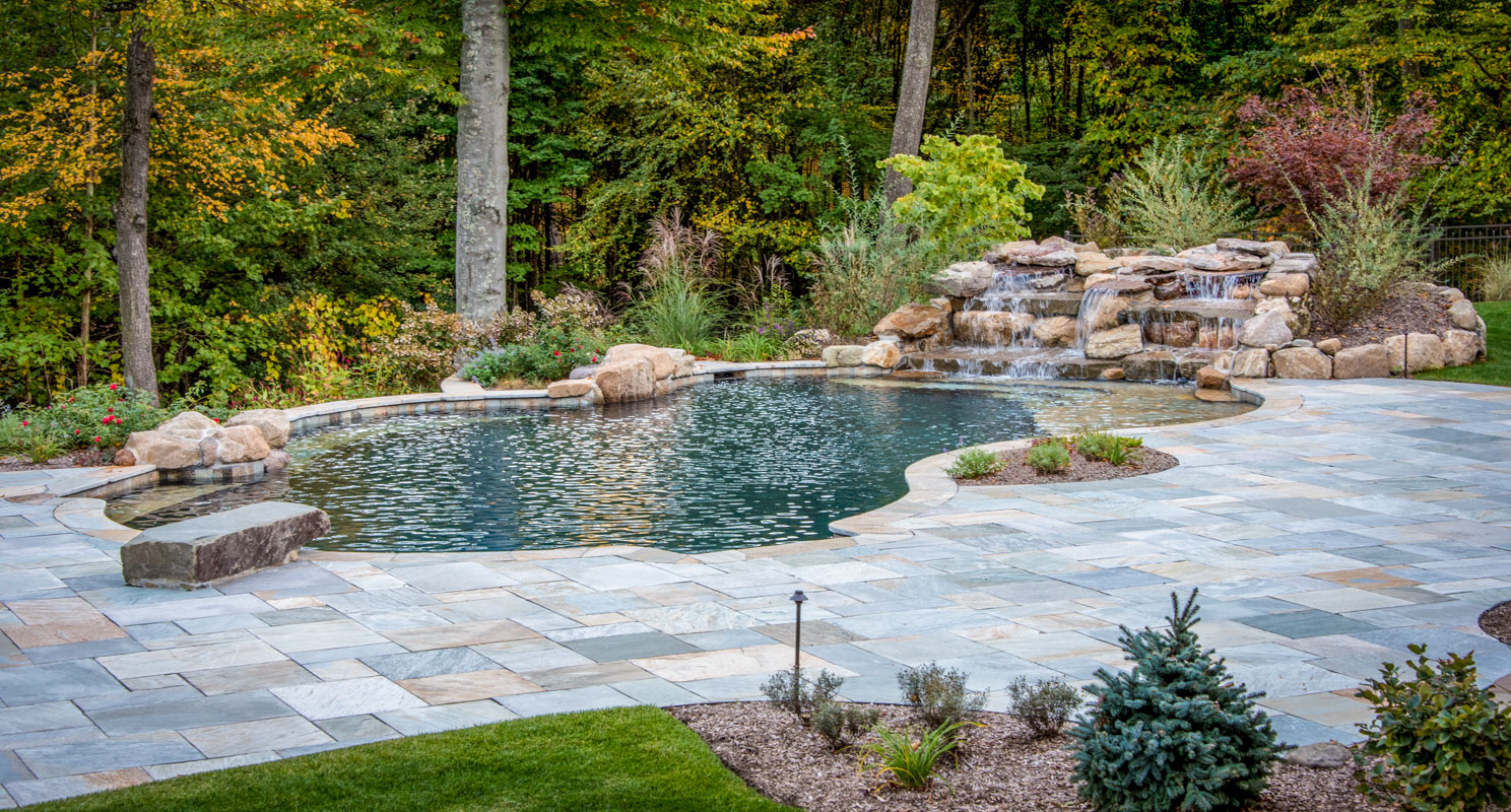 Mountain lakes pool and patio clc landscape design for Deer lake swimming pool schedule