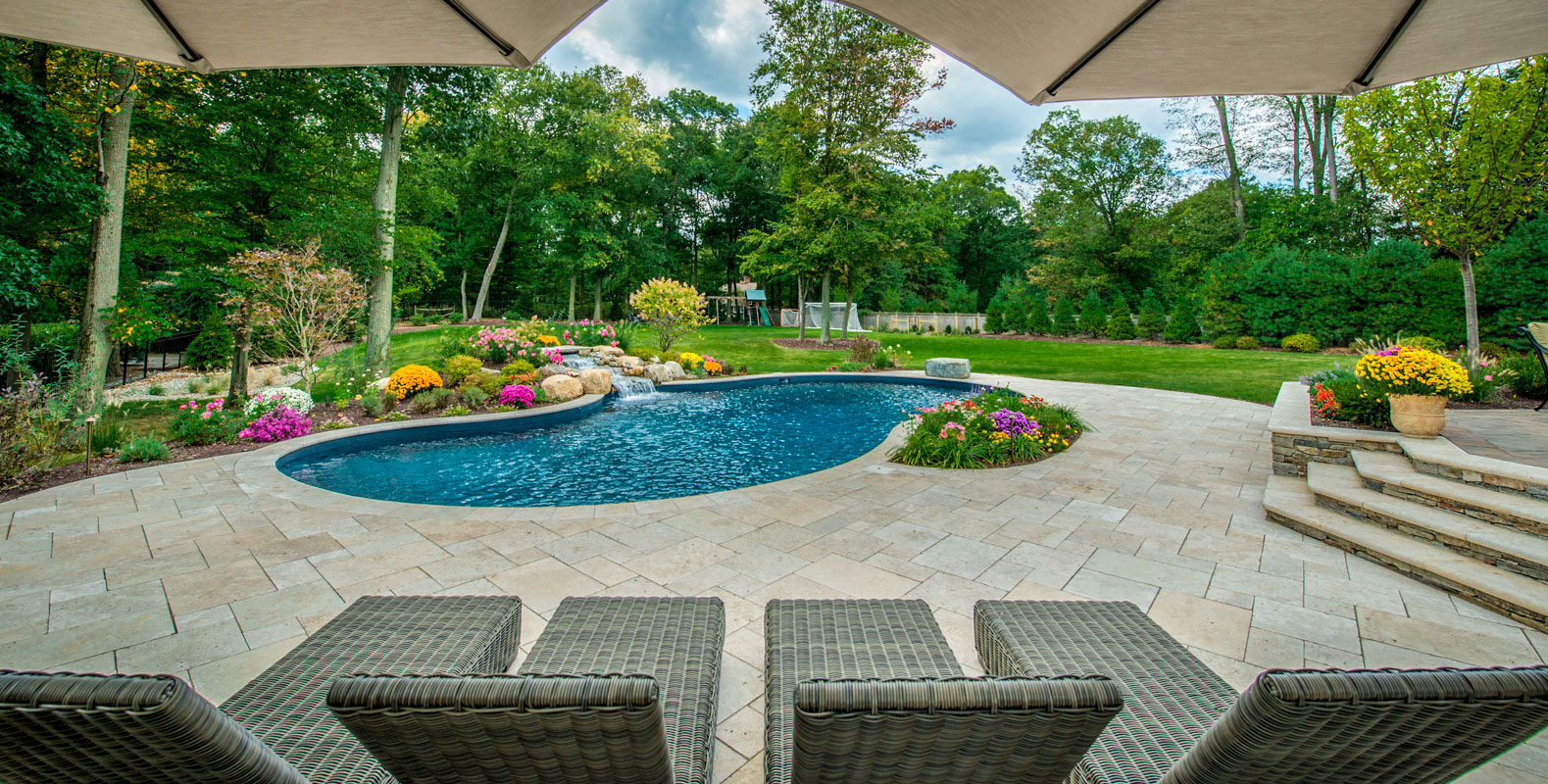 Scotch Plains Backyard Makeover - CLC Landscape Design