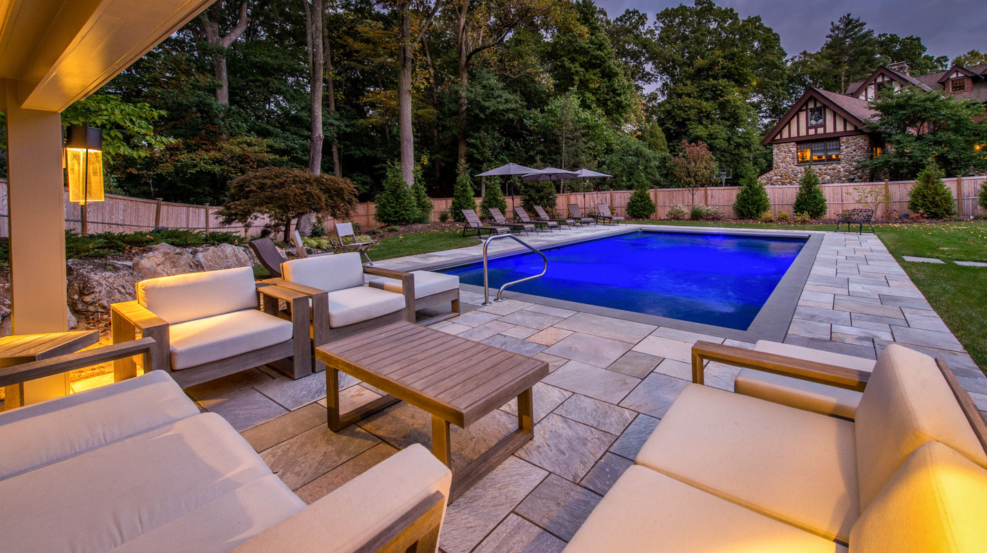 Swimming pool design portfolio serving north jersey for Pool design inc bordentown nj
