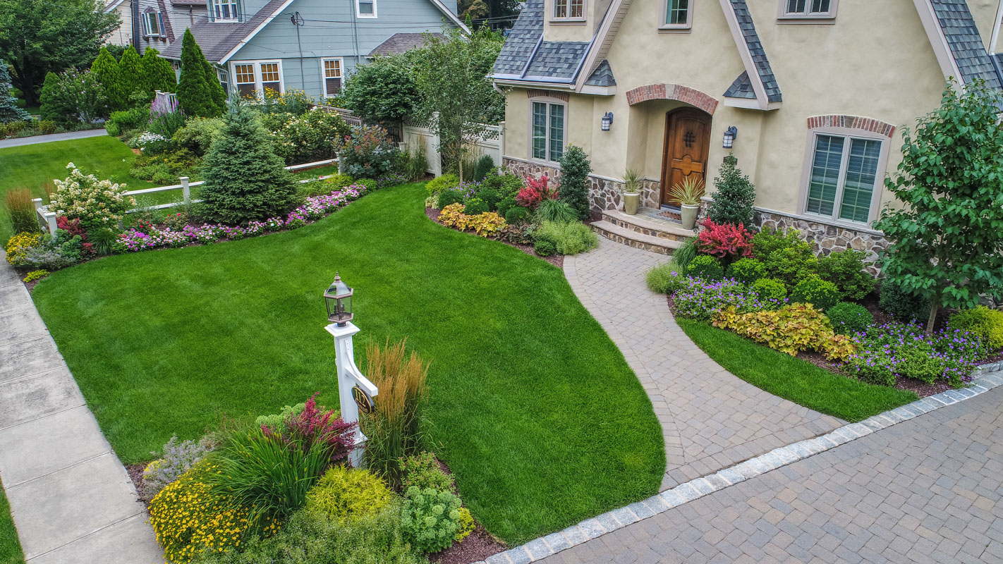 Bergen County Nj Front Yard Landscape Design