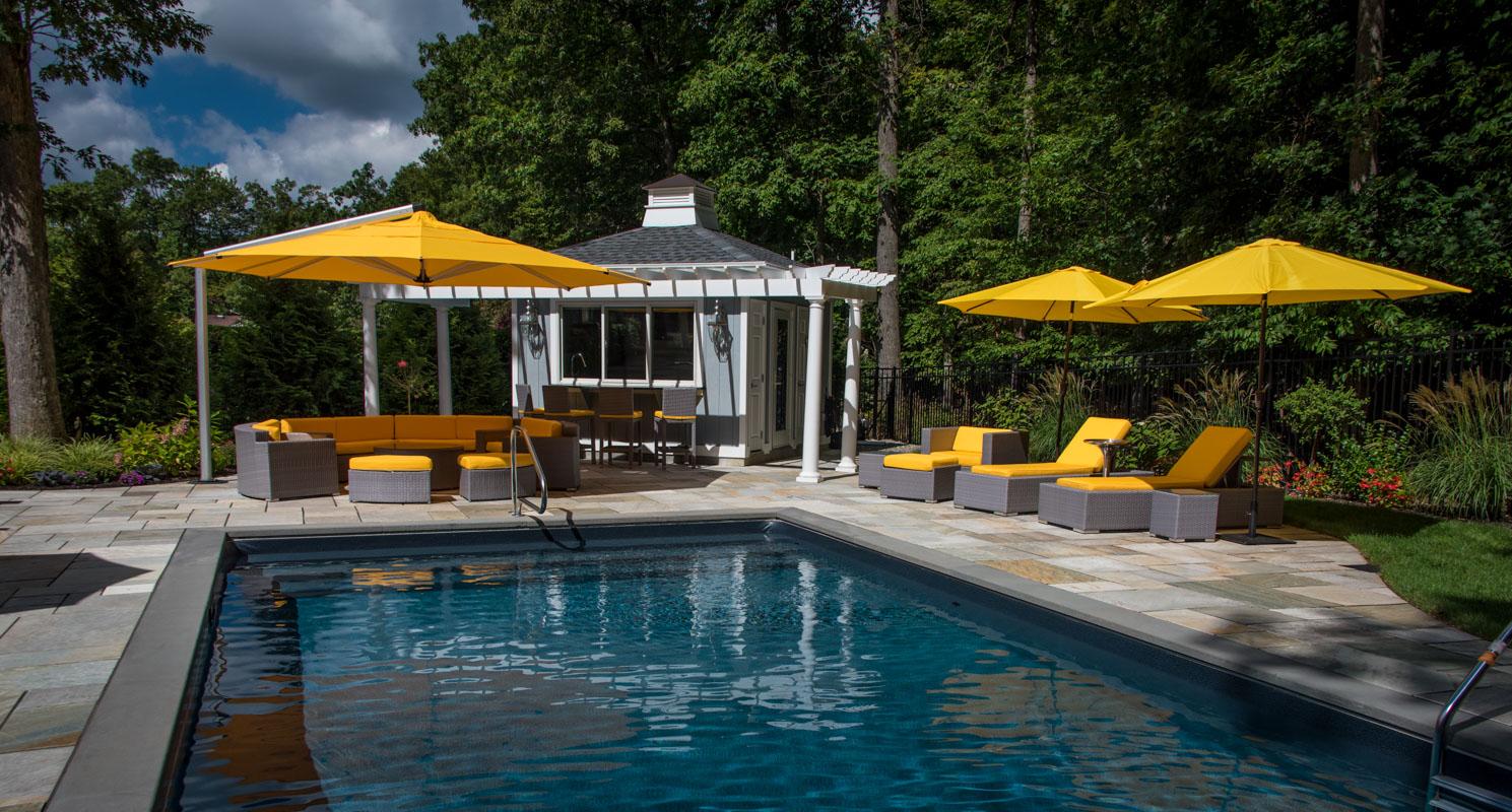 Livingston Luxurious Backyard Clc Landscape Design